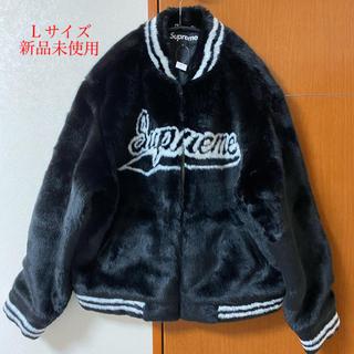 Supreme - supreme Faux Fur Varsity Jacket Lsize