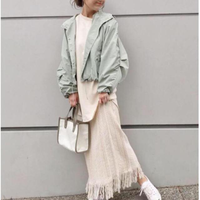 Kastane(カスタネ)のジャガード柄フリンジスカート 最安値☆ レディースのスカート(ロングスカート)の商品写真