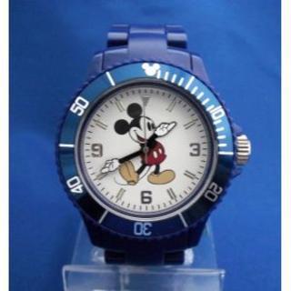 ディズニー(Disney)のミッキーマウスプラベルトウォッチNV-mickey腕時計(腕時計)