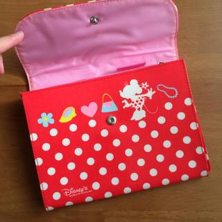 ディズニー(Disney)のミニー 母子手帳ケース マルチケース(母子手帳ケース)
