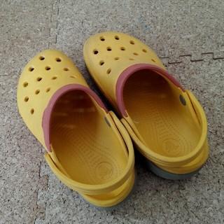 クロックス(crocs)の値下げ~crocs サンダル12c13 約19cm(サンダル)