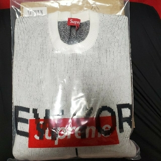 Supreme - New York Sweater 白S