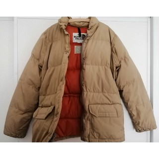 THE NORTH FACE - USA製 70s 80s NorthFace 茶タグ vintage ダウン