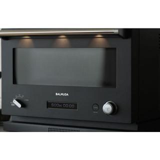 バルミューダ(BALMUDA)のバルミューダ BALMUDA The Range ブラック K04A-BK(電子レンジ)