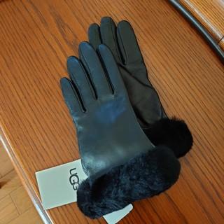 アグ(UGG)のUGGクラシックレザー ショーティ テックグローブ(手袋)