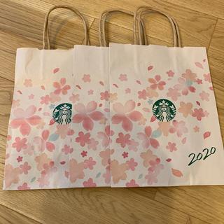 スターバックスコーヒー(Starbucks Coffee)のスターバックス 2020サクラ紙袋(ショップ袋)