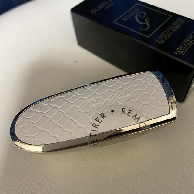 GUERLAIN(ゲラン)の【新品未使用】ゲラン ルージュジェ N°520&ケースセット コスメ/美容のベースメイク/化粧品(口紅)の商品写真