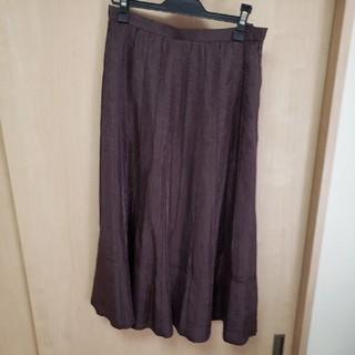 アッシュペーフランス(H.P.FRANCE)のマキシ丈スカート(ロングスカート)