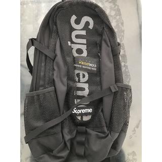 Supreme - 2020SS Supreme Backpack Black