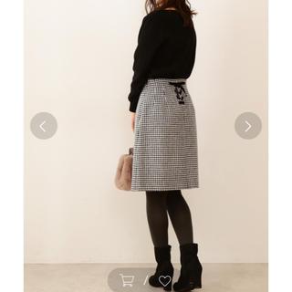 PROPORTION BODY DRESSING - プロポーションボディドレッシング バックリボン千鳥格子チェックタイトスカート