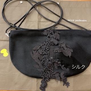 mina perhonen - 【最終タイムセール!定価28600円】ミナペルホネン coupe bag シルク