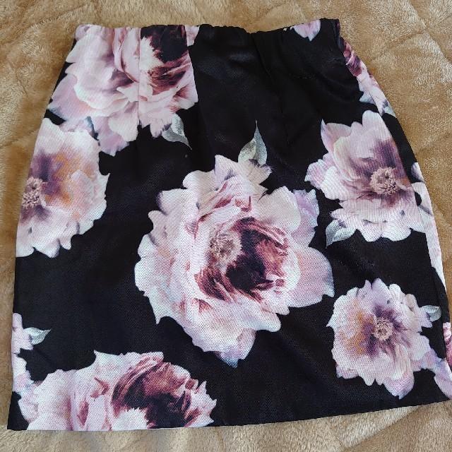 Delyle NOIR(デイライルノアール)のデイライルノアール 花柄スカート レディースのスカート(ミニスカート)の商品写真