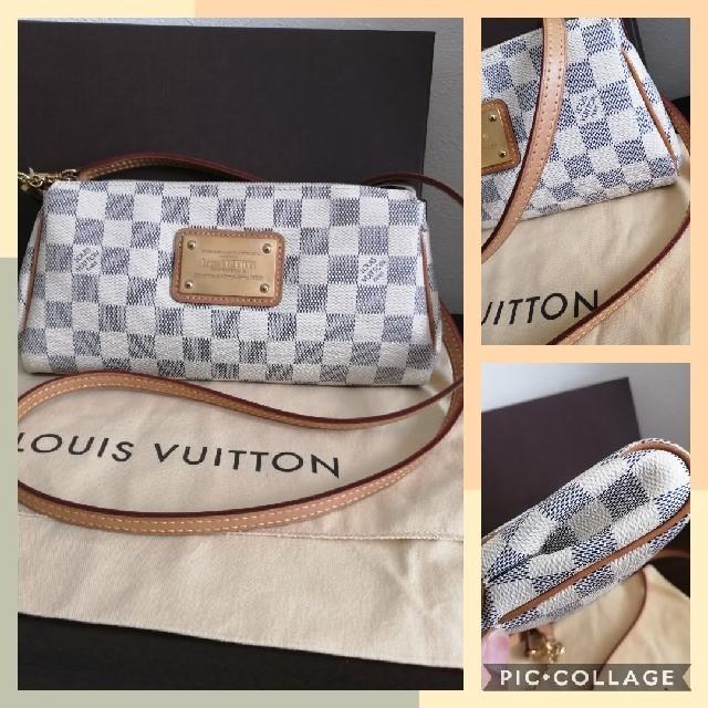 LOUIS VUITTON(ルイヴィトン)のルイヴィトン アズール エヴァ  レディースのバッグ(ショルダーバッグ)の商品写真