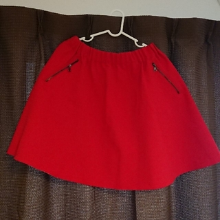 ザラ(ZARA)の♪ZARA ミニスカート(赤)♪(ミニスカート)
