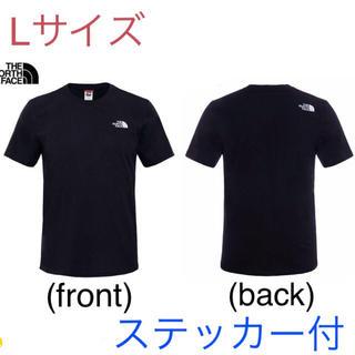 THE NORTH FACE - 【処分価格】最新 ノースフェイス Tシャツ Lサイズ  新品(ステッカー付)