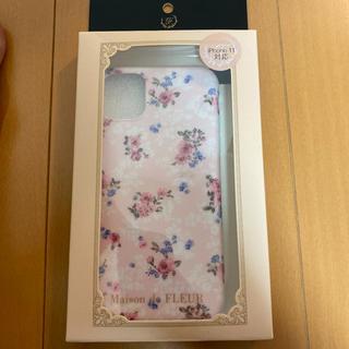 メゾンドフルール(Maison de FLEUR)の新品メゾンドフルールiPhone11スマホケース(iPhoneケース)