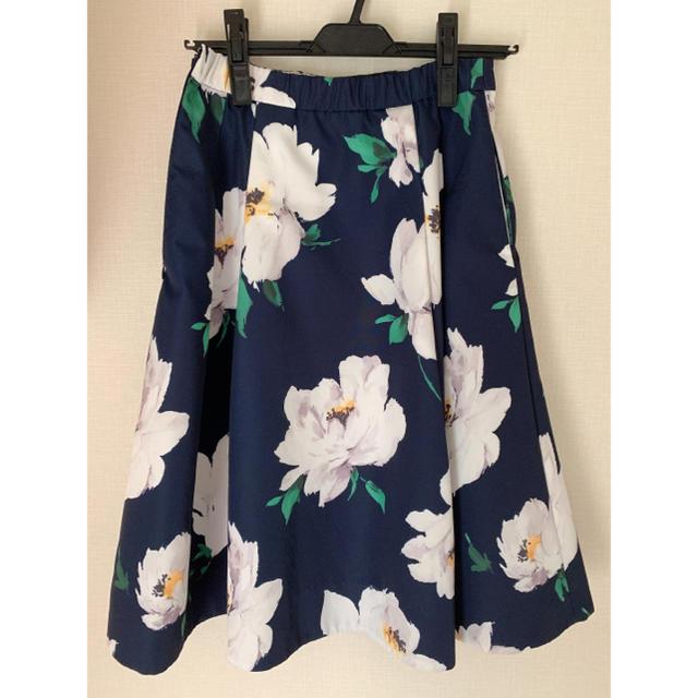 Chesty(チェスティ)のフラワープリントスカート レディースのスカート(ひざ丈スカート)の商品写真