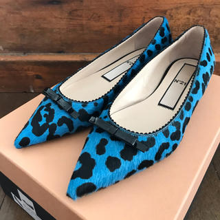 N°21 - 新品 N°21 ヌメロヴェントゥーノ  フラット バレエ 靴 シューズパンプス