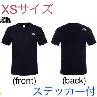 THE NORTH FACE - 【処分価格】最新 ノースフェイス Tシャツ XSサイズ  新品(ステッカー付)