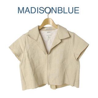 MADISONBLUE - 希少【MADISONBLUEマディソンブルー】リネンコットンショートジャケット