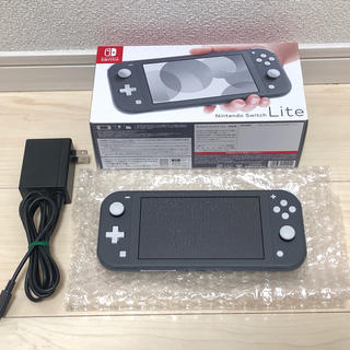 Nintendo Switch - ニンテンドースイッチ ライト 本体 グレー