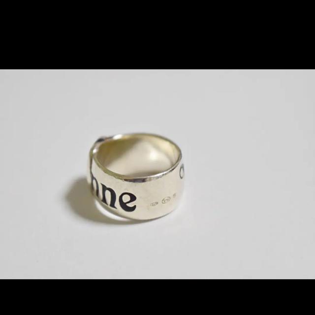 Vivienne Westwood(ヴィヴィアンウエストウッド)のベルトリング S シルバー ヴィヴィアンウエストウッド  メンズのアクセサリー(リング(指輪))の商品写真