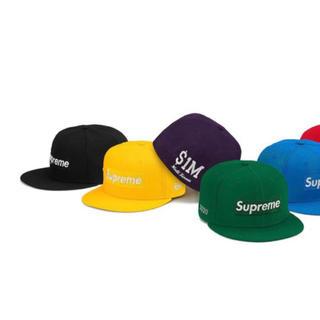Supreme - supreme new era キャップ ブラック