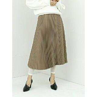 ハイク(HYKE)の【未使用】HYKE プリーツスカートPLEATED SKIRT (ロングスカート)