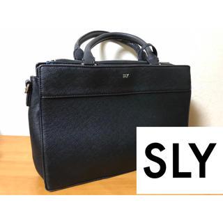 スライ(SLY)のSLY ハンドバッグ 黒(ハンドバッグ)