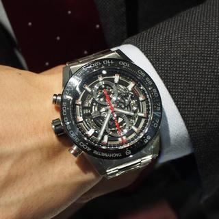 タグホイヤー(TAG Heuer)の▪️値下げ タグホイヤー カレラ 01 CRA2A1W.BA703(腕時計(デジタル))