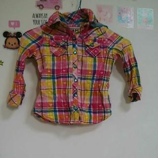エムピーエス(MPS)の90 MPS チェックシャツ(Tシャツ/カットソー)