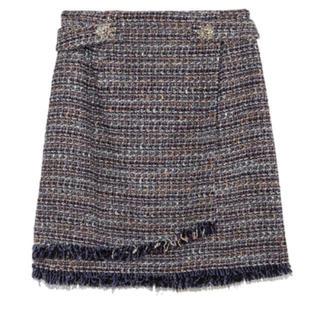 Lily Brown - ツイードスカート