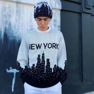 Supreme - 20ss New York Sweater(国内定価20520円)