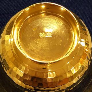 ⚜️最終お値下げ⚜️ 純金 K24 猪口 🍶おちょこ 24金  純金インゴット