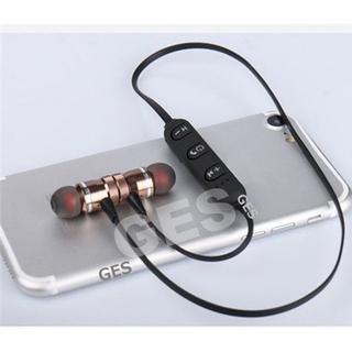 ★ゴールド マグネット付 Bluetooth ワイヤレス イヤホン