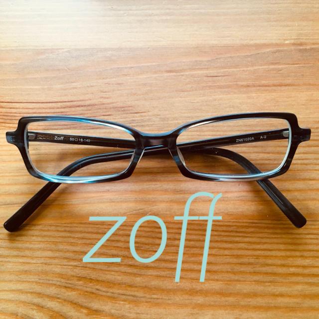 Zoff(ゾフ)のZoff 眼鏡 スクエア レディースのファッション小物(サングラス/メガネ)の商品写真