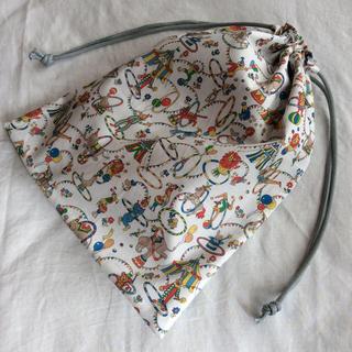 リバティ 巾着袋  アイザックスジュビリー(外出用品)