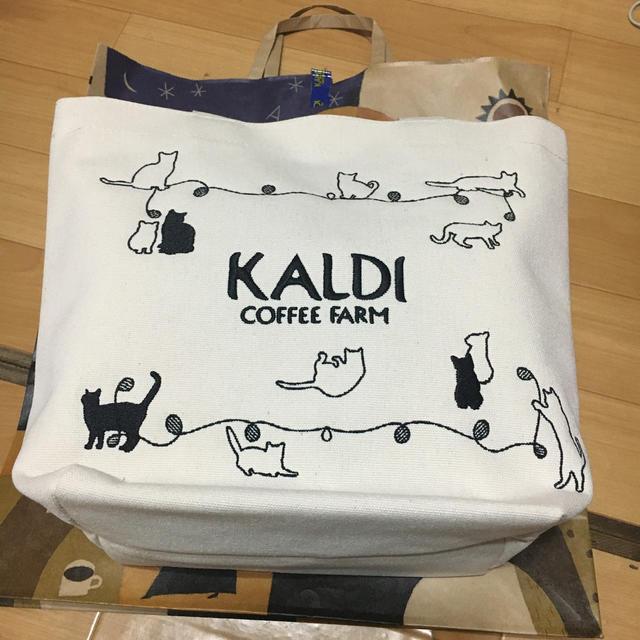 カルディ  猫の日バッグ  プレミアム レディースのバッグ(トートバッグ)の商品写真
