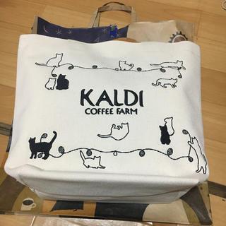 カルディ  猫の日バッグ  プレミアム(トートバッグ)