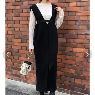 IENA - Eimee Law/デザインベルトボンディングジャンバースカート