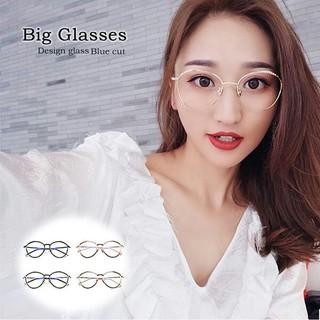 PCメガネ 丸型 ブルーライトカット メガネ 度なし おしゃれ  (サングラス/メガネ)