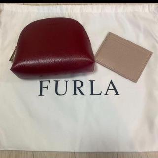 Furla - 新品★送料込★正規品本物★FURLA フルラ ポーチ&カードケース セット