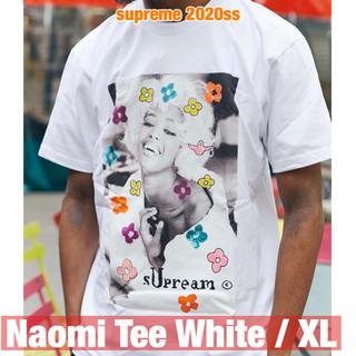 Supreme - supreme【即日配送可】2020ss Naomi Tee White/XL