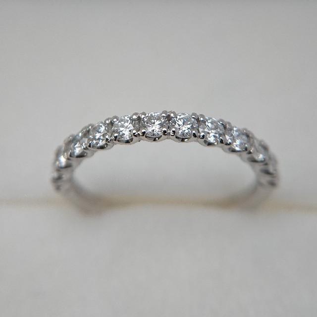 pt900 ダイヤモンド リング レディースのアクセサリー(リング(指輪))の商品写真