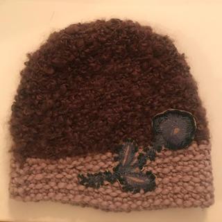 ミナペルホネン(mina perhonen)の(連休期間限定お値下げ)ミナニット帽(ニット帽/ビーニー)