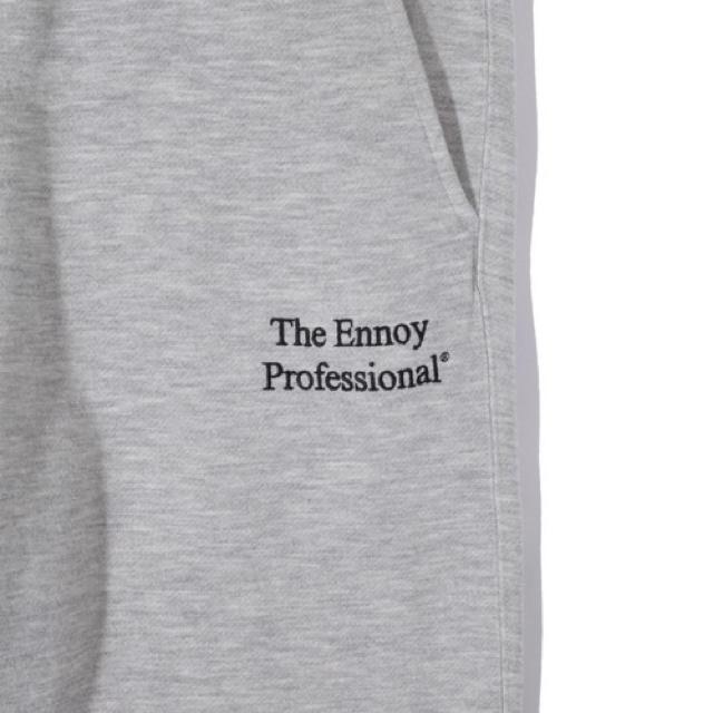1LDK SELECT(ワンエルディーケーセレクト)のennoy is-ness スタイリスト私物 スウェットパンツ L グレー メンズのパンツ(その他)の商品写真