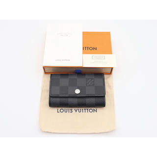 LOUIS VUITTON - 《LOUIS VUITTON/キーケース》鑑定済み 完全正規 展示未使用品