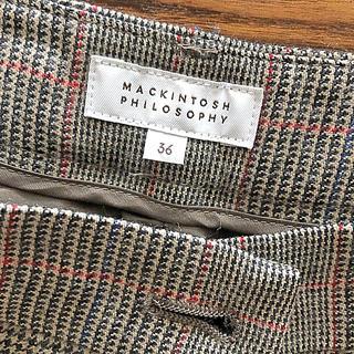 マッキントッシュフィロソフィー(MACKINTOSH PHILOSOPHY)の【美品】マッキントッシュフィロソフィー ショートパンツ 36(ショートパンツ)