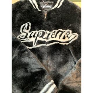 Supreme - Supreme Faux Fur Varsity Jacket 20ss立ち上げ