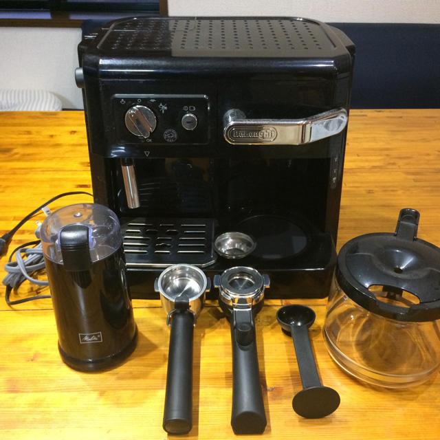 DeLonghi(デロンギ)のデロンギDeLonghi新品コーヒーメーカーカフェ スマホ/家電/カメラの調理家電(コーヒーメーカー)の商品写真